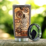Time Machine Time Is Free But You Can't Own It In You Hand Stainless Steel Tumbler, Tumbler Cups For Coffee/Tea, Great Customized Gifts For Birthday Christmas Thanksgiving