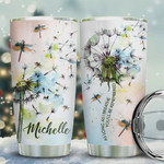 Dandelion Dragonfly Personalized Tumbler Cup As Long As I Breathe You Will Be Remembered Stainless Steel Insulated Tumbler 20 Oz Remembrance Tumbler To Relatives Best Birthday Christmas Gifts