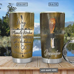 Way Maker Personalized Stainless Steel Vacuum Insulated 20 Oz Tumbler Cups For Coffee/Tea Great Customized Gifts For Birthday Christmas Thanksgiving Perfect Gifts For God Lovers
