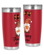 2nd Grade Teacher, Happy Thanksgiving Stainless Steel Tumbler, Tumbler Cups For Coffee/Tea