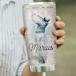 Personalized Golf Life Lesson Stainless Steel Tumbler, Tumbler Cups For Coffee/Tea, Great Customized Gifts For Birthday Christmas Thanksgiving