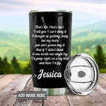 Personalized Black Labrador I Have A Black Dog Stainless Steel Tumbler, Tumbler Cups For Coffee/Tea, Great Customized Gifts For Birthday Christmas Thanksgiving