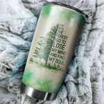 Personalized Into The Forest I Go To Lose My Mind Camper Tumbler Stainless Steel Vacuum Insulated Double Wall Travel Tumbler With Lid For Coffee/Tea, Perfect Gifts For Birthday Christmas