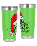School Psychologist, Merry Christmas Stainless Steel Tumbler, Tumbler Cups For Coffee/Tea