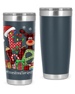 Occupational Therapist, Merry Christmas Stainless Steel Tumbler, Tumbler Cups For Coffee/Tea