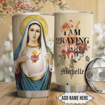 Faith Prayer Personalized Tumbler Cup I Am Praying For You Stainless Steel Vacuum Insulated Tumbler 20 Oz Great Gifts For Birthday Christmas Thanksgiving Travel Tumbler With Lid