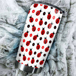 Ladybug Tumbler Stainless Steel Vacuum Insulated Double Wall Travel Tumbler With Lid, Tumbler Cups For Coffee/Tea, Perfect Gifts For Birthday Christmas Thanksgiving