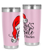 Assistant Teacher, Merry Christmas Stainless Steel Tumbler, Tumbler Cups For Coffee/Tea