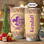 Scout Personalized Tumbler Cup What You Give That Brings Happiness Stainless Steel Vacuum Insulated Tumbler 20 Oz Great Customized Gifts For Birthday Christmas Thanksgiving