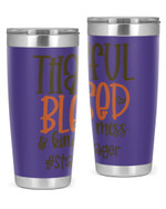 Stage Manager, Thankful Blessed Stainless Steel Tumbler, Tumbler Cups For Coffee/Tea