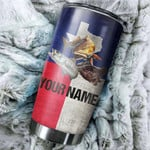 Personalized Fishing Gifts For Fisherman Texas Slam Texas Flag Customize Name Tumbler Cup Perfect Gifts For Fishing Lovers