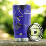 Personalized Stethoscope Not All Angles Have Wings Stainless Steel Tumbler, Tumbler Cups For Coffee/Tea, Great Customized Gifts For Birthday Christmas Thanksgiving
