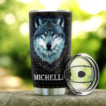 Personalized My DNA Is Native American Blood Stainless Steel Tumbler, Tumbler Cups For Coffee/Tea, Great Customized Gifts For Birthday Christmas Thanksgiving