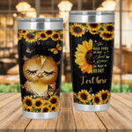 Personalized Owl She Has Fire In Her Soul Stainless Steel Tumbler Perfect Gifts For Owl Lover Tumbler Cups For Coffee/Tea, Great Customized Gifts For Birthday Christmas Thanksgiving