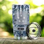 Personalized U.S. Navy Stainless Steel Tumbler, Tumbler Cups For Coffee/Tea, Great Customized Gifts For Birthday Christmas Thanksgiving