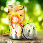 A Redhead Is Like A Four Leaf Clover Hard To Find Lucky To Have Stainless Steel Tumbler, Tumbler Cups For Coffee/Tea, Great Customized Gifts For Birthday Christmas Thanksgiving
