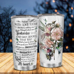 Hummingbird I Think Of You In Silence I Often Speak Your Name Tumbler Perfect Gifts For Hummingbird Lover Tumbler 20 Oz Sport Bottle Stainless Steel Vacuum Insulated Tumbler