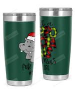 Teacher, Merry Christmas Stainless Steel Tumbler, Tumbler Cups For Coffee/Tea