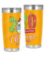 4th Grade Teacher, 2020 Quarantine Christmas Stainless Steel Tumbler, Tumbler Cups For Coffee/Tea