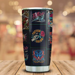 Tattoo Personalized Tumbler Cup Tattoo Studio Wall Stainless Steel Vacuum Insulated Tumbler 20 Oz Best Gifts For Tattoo Lovers Great Customized Gifts For Birthday Christmas Thanksgiving