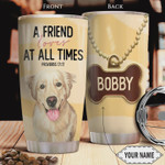 Personalized Golden Retriever Bible A Friend Loves At All Times Stainless Steel Tumbler Perfect Gifts For Dog Lover 20 Oz Tumbler Cups For Coffee/Tea, Gifts For Birthday Christmas Thanksgiving