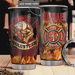 Personalized Volunteer Firefighter Tumbler Cup Gifts For Volunteer Firefighter On Birthday Christmas Thanksgiving Mother's day Gifts For Mom Birthday Gifts Mom Gifts 20 Oz Tumbler