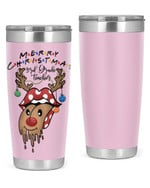 3rd Grade Teacher , Merry Christmas Stainless Steel Tumbler, Tumbler Cups For Coffee/Tea, Great Customized Gifts For Birthday Christmas Anniversary