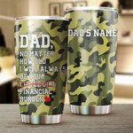 Personalized Family No Matter How Old I Will Always Be Your Little Girl Stainless Steel Tumbler, Tumbler Cups For Coffee/Tea, Great Customized Gifts For Birthday Christmas Thanksgiving