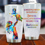 Personalized Mom And Son Tumbler You're The Only One Stainless Steel Vacuum Insulated Double Wall Travel Tumbler With Lid, Tumbler Cups For Coffee/Tea, Perfect Gifts For Son On Birthday Christmas