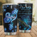 Personalized Advice From Sea Turtle Stainless Steel Vacuum Insulated Tumbler 20 Oz, Gifts For Birthday Christmas Thanksgiving, Perfect Gifts For Turtle Lovers, Coffee/ Tea Tumbler