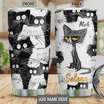 Personalized Lovely Cat Stainless Steel Vacuum Insulated Tumbler 20 Oz, Gifts For Birthday Christmas Thanksgiving, Perfect Gifts For Cat Lovers, Coffee/ Tea Tumbler