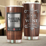 It's Wine Enjoy The Good Life Everyday Stainless Steel Vacuum Insulated Double Wall Travel Tumbler With Lid, Tumbler Cups For Coffee/Tea, Perfect Gifts For Wine Lovers On Birthday Christmas Thanksgiving