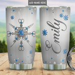 Personalized Hair Artist Metal Style, Stainless Steel Vacuum Insulated, 20 Oz Tumbler Cups For Coffee/Tea, Gifts For Birthday Christmas Thanksgiving, Perfect Gifts For Hair Artist Lovers
