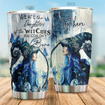 The Daughters Of Witch Personalized Tumbler Cup You Couldn't Burn Stainless Steel Vacuum Insulated Tumbler Best Gifts For Birthday Christmas Thanksgiving Tumbler For Coffee/ Tea With Lid