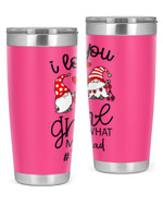 Paraprofessional, I Love Gnome Stainless Steel Tumbler, Tumbler Cups For Coffee/Tea