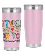 1st Grade Teacher Stainless Steel Tumbler, Tumbler Cups For Coffee/Tea