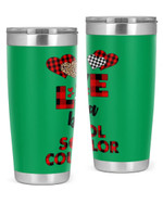 School Counselor Stainless Steel Tumbler, Tumbler Cups For Coffee/Tea