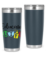 Educator Life Stainless Steel Tumbler, Tumbler Cups For Coffee/Tea