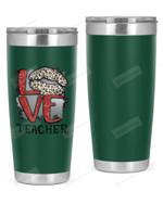 Teacher Stainless Steel Tumbler, Tumbler Cups For Coffee/Tea