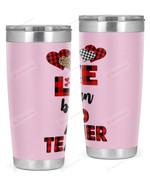 AVID Teacher Stainless Steel Tumbler, Tumbler Cups For Coffee/Tea