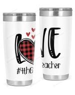 4th Grade Teacher Stainless Steel Tumbler, Tumbler Cups For Coffee/Tea