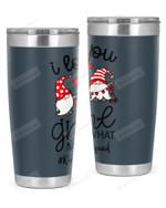 Kindergarten Teacher, I Love Gnome Stainless Steel Tumbler, Tumbler Cups For Coffee/Tea