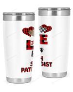 Speech Pathologist Stainless Steel Tumbler, Tumbler Cups For Coffee/Tea