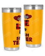 Spanish Teacher Stainless Steel Tumbler, Tumbler Cups For Coffee/Tea