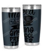 Preschool Teacher Stainless Steel Tumbler, Tumbler Cups For Coffee/Tea