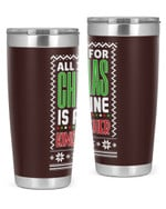 Kindergarten Teacher - Christmas Stainless Steel Tumbler, Tumbler Cups For Coffee/Tea
