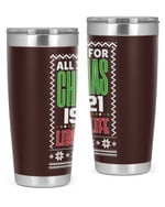 Librarian - Christmas Christmas Stainless Steel Tumbler, Tumbler Cups For Coffee/Tea