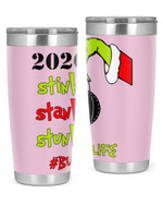 Bus Aide, The Grinch Christmas Stainless Steel Tumbler, Tumbler Cups For Coffee/Tea
