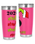 Bus Driver, The Grinch Christmas Stainless Steel Tumbler, Tumbler Cups For Coffee/Tea