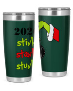 Christmas 2020 Stink - Stank - Stunk, The Grinch Christmas Stainless Steel Tumbler, Tumbler Cups For Coffee/Tea